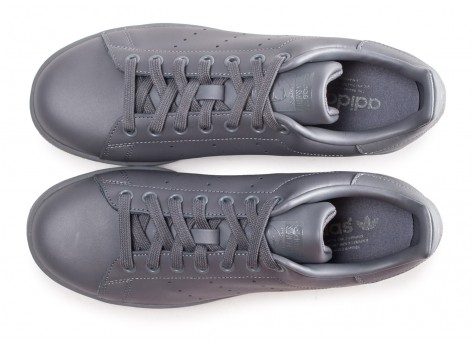 Chaussures adidas Stan Smith grise  vue arrière