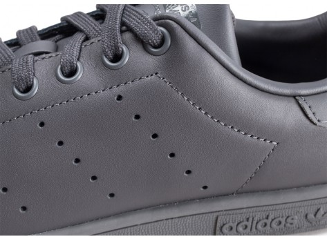 Chaussures adidas Stan Smith grise  vue dessus
