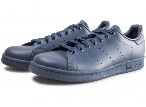 Chaussures adidas Stan Smith bleue marine vue intérieure