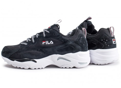 Ray Fila Et Blanche Tracer Noire Junior 0mN8nw