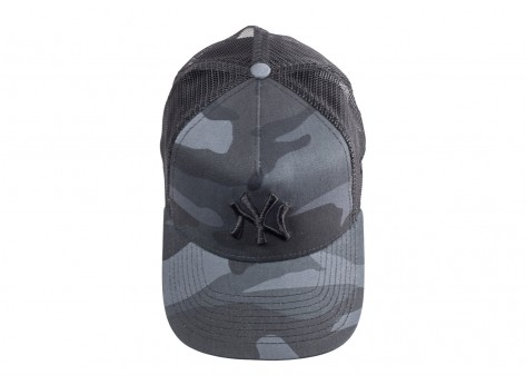 Casquettes New Era Casquette Camo Essential Trucker York Yankees noire