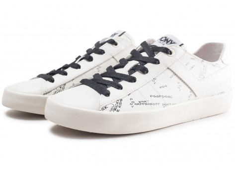 Chaussures Pony Top Star blanche  vue intérieure