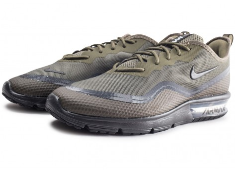 Chaussures Nike Air Max Sequent 4.5 SE Medium Olive vue intérieure