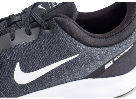 Chaussures Nike Flex Experience RN 8 anthracite vue dessus