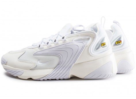 Chaussures Nike Zoom 2K blanche vue extérieure