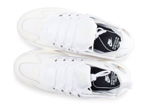 Chaussures Nike Zoom 2K blanche vue arrière