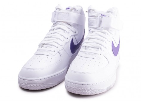 Chaussures Nike Air Force 1 High Court Purple vue intérieure