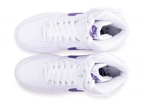 Chaussures Nike Air Force 1 High Court Purple vue arrière