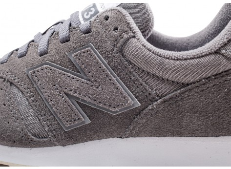 Chaussures New Balance WL373WTD grise femme vue dessus