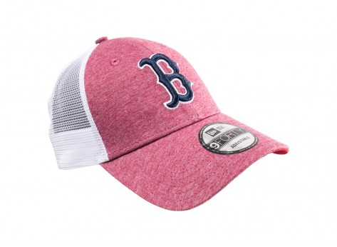 Casquettes New Era Casquette Trucker rouge et blanche Red Sox Boston