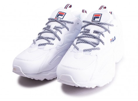 Chaussures Fila Ray Tracer blanc vue intérieure