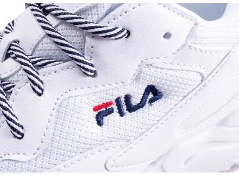 Chaussures Fila Ray Tracer blanc vue dessus