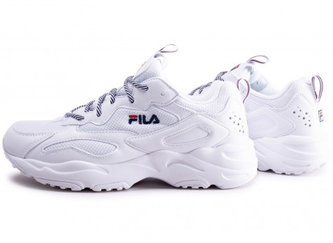 Chaussures Fila Ray Tracer blanc vue extérieure