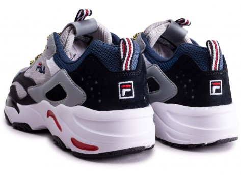 Chaussures Fila Ray Tracer gris  vue dessous