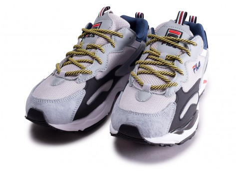 Chaussures Fila Ray Tracer gris  vue intérieure