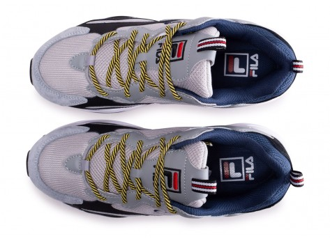 Chaussures Fila Ray Tracer gris  vue arrière