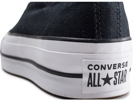 Chaussures Converse Chuck Taylor All Star Lift noire femme vue dessus