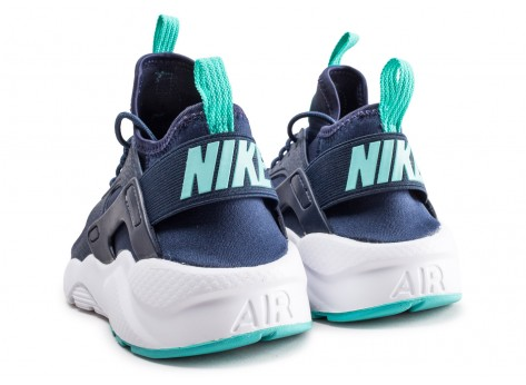 Chaussures Nike Air Huarache Run Ultra bleue junior vue dessous