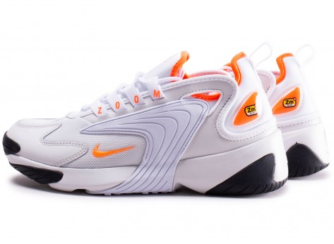 chaussure nike zoom blanche