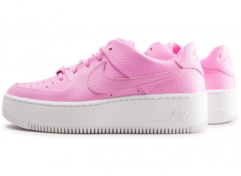 Nike Air Force 1 Sage Low rose femme - Chaussures Baskets femme ...