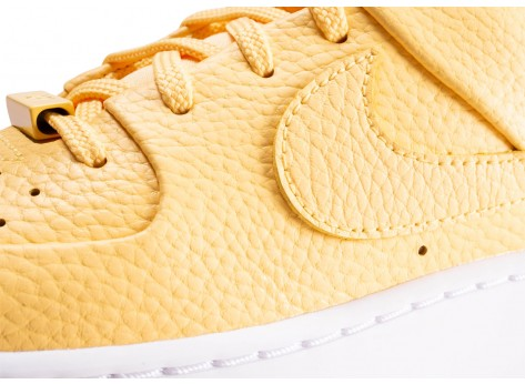 Chaussures Nike Air Force 1 Sage Low Topaze Gold femme vue dessus