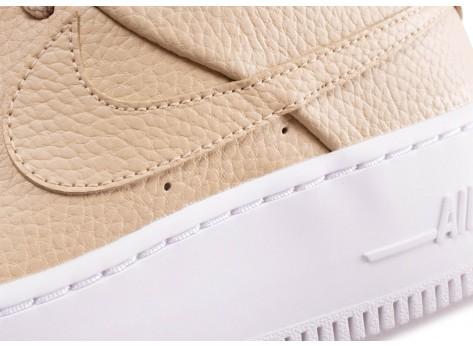 Chaussures Nike Air Force 1 Sage Desert Ore vue dessus