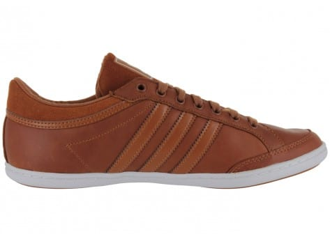 adidas Plimcana Clean Low Marron Chaussures Baskets homme