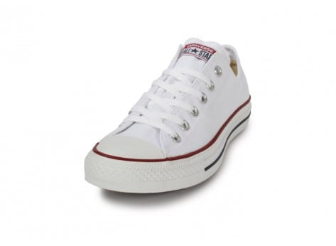 Chaussures Converse Chuck Taylor All Star low blanche vue avant
