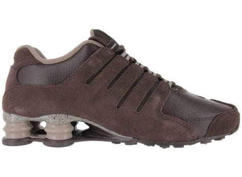 info for 100% high quality amazing price Nike Shox Nz Marron - Chaussures Baskets homme - Chausport