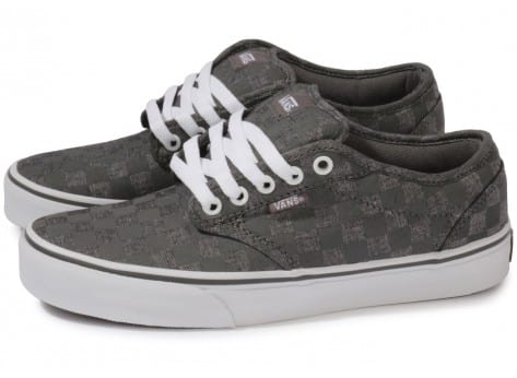 Vans Atwood Damier Grise - Chaussures Chaussures - Chausport