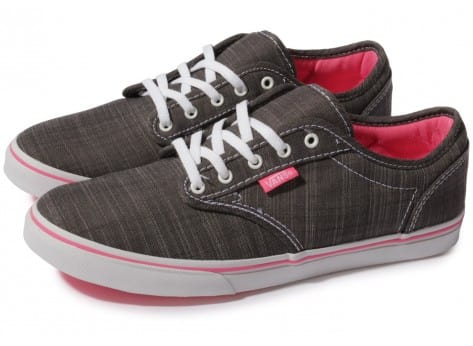 Vans Atwood grise et rose - Chaussures Chaussures - Chausport