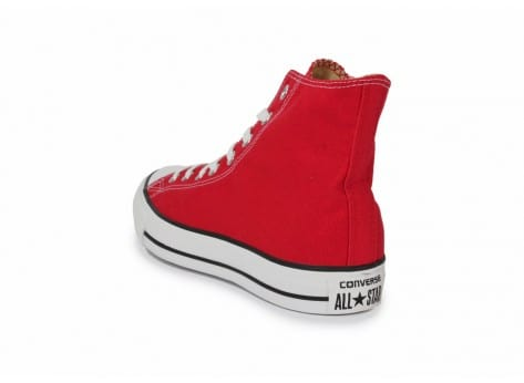 Chaussures Converse Chuck Taylor All-star Hi Rouge vue arrière