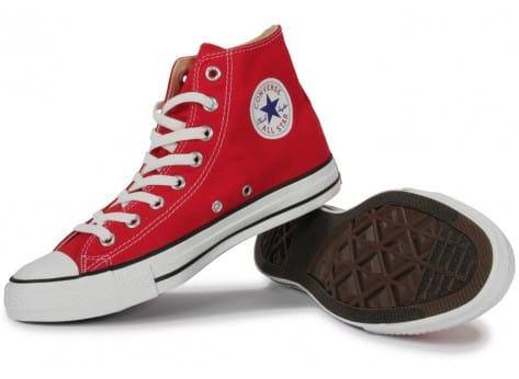Chaussures Converse Chuck Taylor All-star Hi Rouge vue intérieure