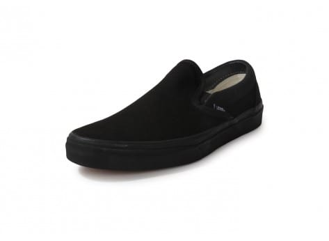 Chaussures Vans Classic Slip-on All Black vue avant