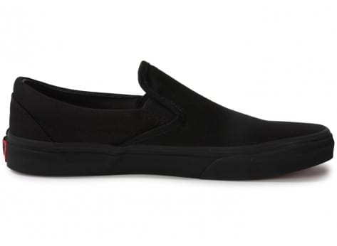 Chaussures Vans Classic Slip-on All Black vue dessous
