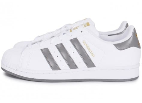 Or Chausport Blanc Et Baskets Adidas Chaussures Superstar Gris Homme roCxBed