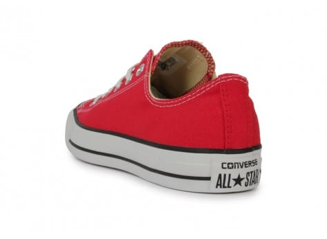 Chaussures Converse Chuck Taylor All-star Low Rouge vue arrière