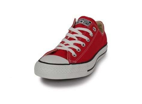 Chaussures Converse Chuck Taylor All-star Low Rouge vue avant