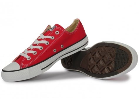 Chaussures Converse Chuck Taylor All-star Low Rouge vue intérieure