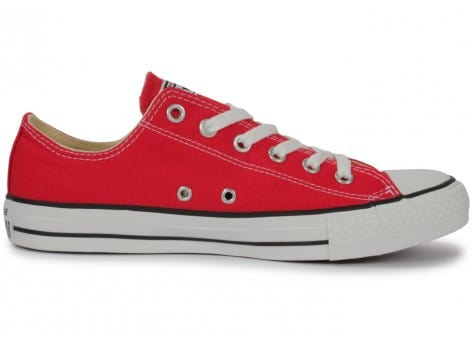 Chaussures Converse Chuck Taylor All-star Low Rouge vue dessous