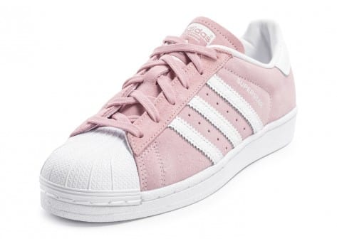 adidas Superstar Suede rose pâle 5 12 avis