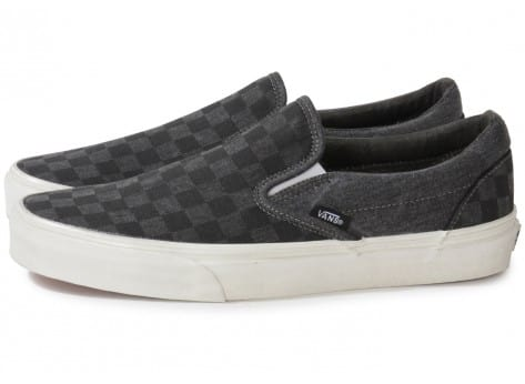 Grise Baskets Chausport On Classic Homme Damier Chaussures Slip Vans by76Ygf