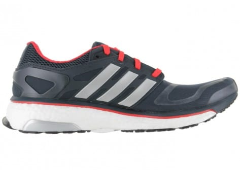 adidas sport Energy Boost Noire Rouge - Chaussures Baskets homme ...
