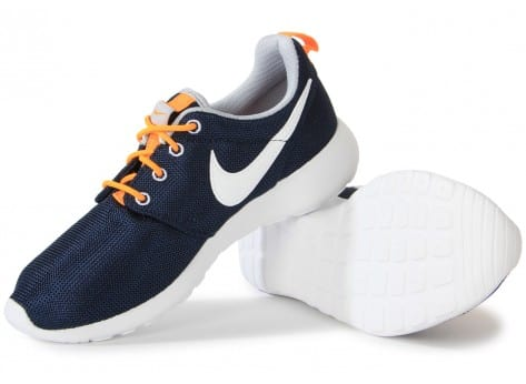 detailing 7117a 6f736 ... Chaussures Nike Roshe One Obsidian vue intérieure ...