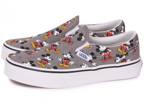 Vans Classic Slip on Disney Mickey Enfant Grise 4 1 avis
