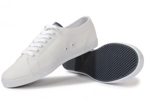 bc36a4a371 Lacoste Marcel Lup Blanche - Chaussures Baskets homme - Chausport