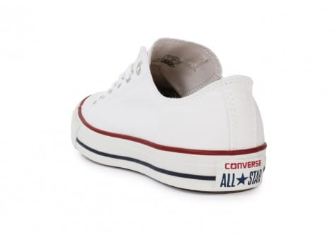 Chaussures Converse Chuck Taylor All Star low blanche vue arrière