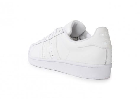 Chaussures adidas Superstar Foundation blanche vue arrière