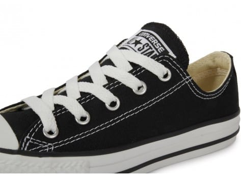 Chaussures Converse Chuck Taylor All Star low noire vue dessus