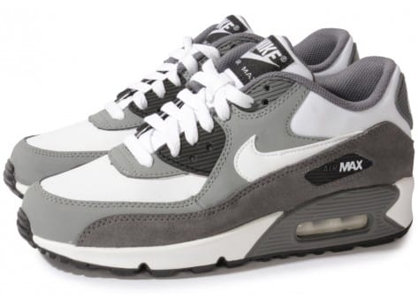 Nike Air Max 90 Blanche Grise - Chaussures Chaussures - Chausport